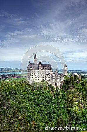 Free Neuschwanstein Castle - Bavaria, Germany Stock Photo - 104781800