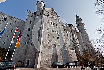 Neuschwanstein Castle Fussen Germany Editorial Stock Image