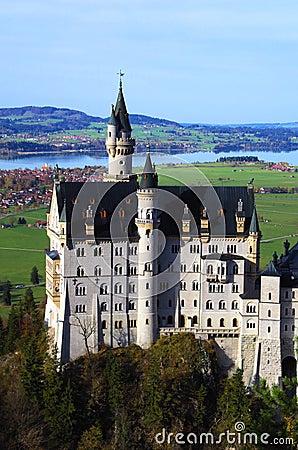 Free Neuschwanstein Castle Romantic Road Stock Image - 34724311