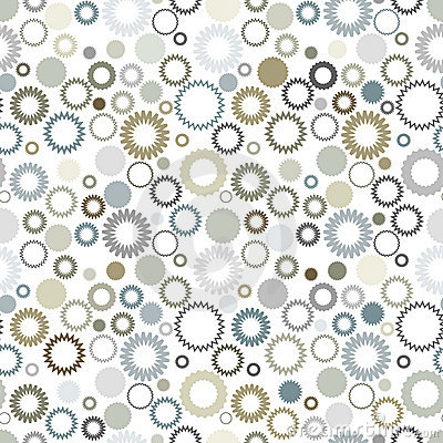 Neutral color seamless pattern