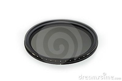 Neutral density photographic filter