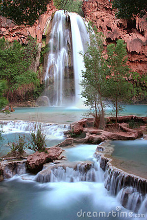 Free Nevada Falls At Dusk Royalty Free Stock Photo - 5366685