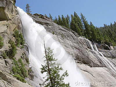 Nevada Falls in Yosemite 1