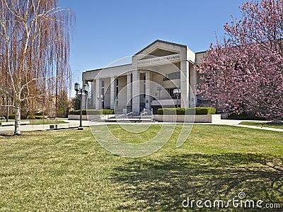 Nevada Supreme Court, Carson City, Nevada Editorial Photo