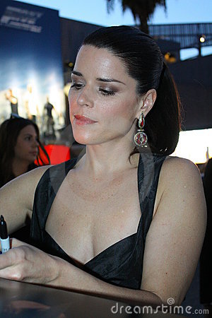Neve Campbell Editorial Image