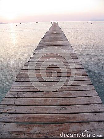 Never ending pier