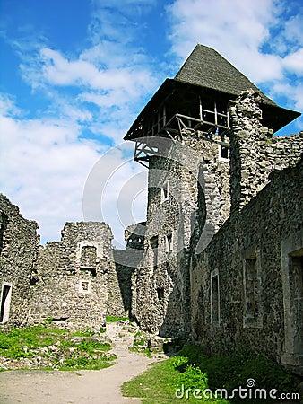 Nevitskiy castle near Uzhgorod, Ukraine