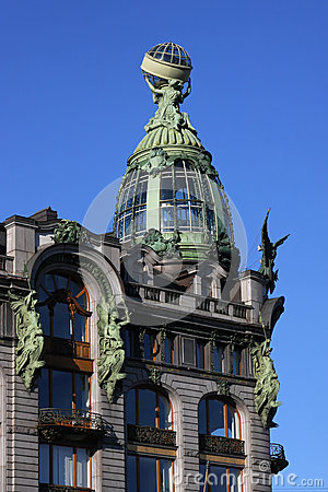 Nevski Perspective building