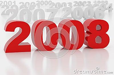 New 2008 year