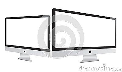 New 2014 Apple Imac with Retina Display Editorial Image