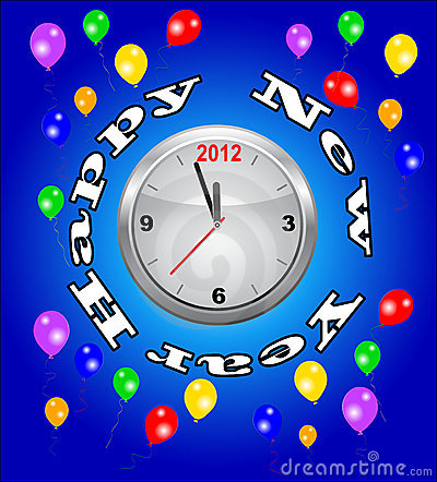 New 2012 Year party time