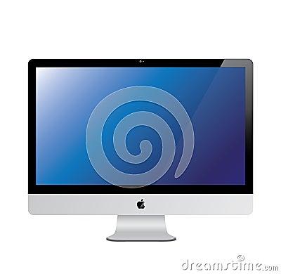 Free New 2014 Apple Imac Royalty Free Stock Photography - 15879297