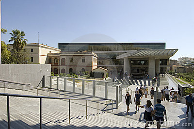 New Acropolis Museum - Athens Editorial Stock Photo