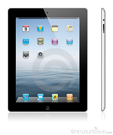 New Apple iPad 3 Editorial Stock Image
