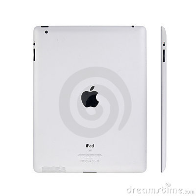 New Apple iPad2 Editorial Stock Image