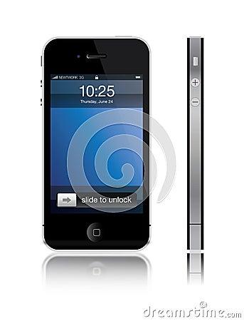 New Apple iPhone Editorial Stock Photo