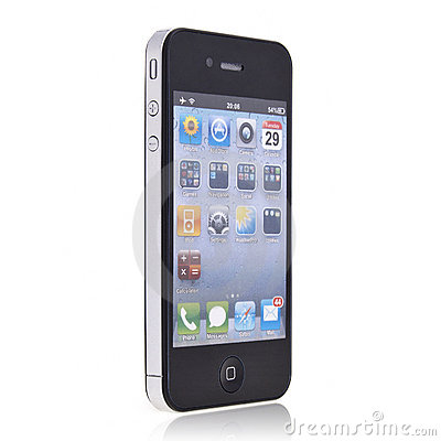 New Apple iPhone 4 Editorial Stock Image