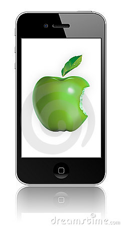 Free New Apple IPhone 4 Eco-friendly Royalty Free Stock Image - 14674726