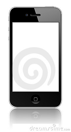 New Apple iPhone 4S Editorial Stock Photo