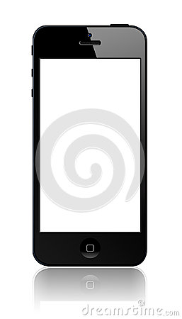 New Apple iPhone 5 Editorial Stock Image