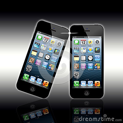 New Apple Iphone 5 Editorial Photo