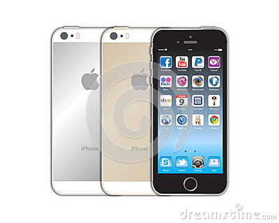 New Apple iphone 5s Editorial Image
