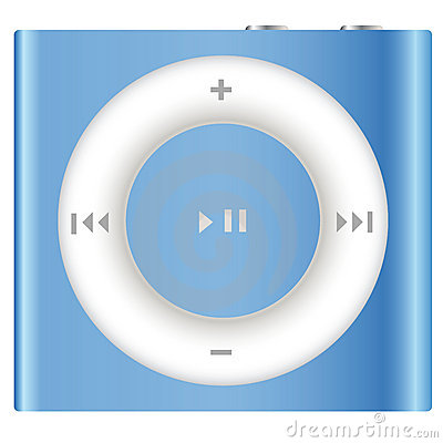 New Apple iPod Shuffle Editorial Stock Image