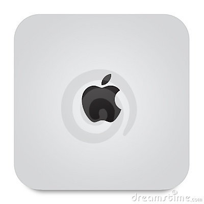 New Apple Mac Mini Editorial Stock Image