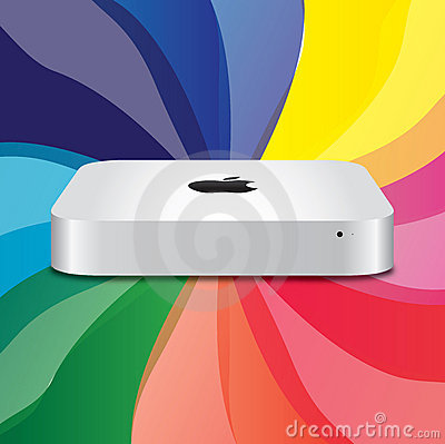 New Apple Mac Mini  Editorial Photography