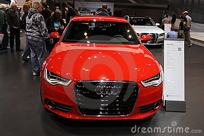 New Audi A6 Editorial Stock Image