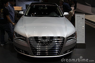 New Audi A8L Editorial Stock Image