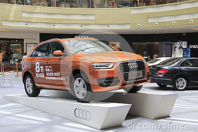 New audi q3 Editorial Photo