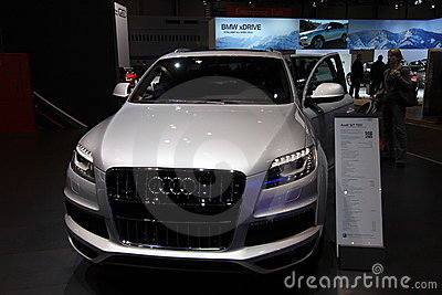 New Audi Q7 TDI Editorial Stock Image