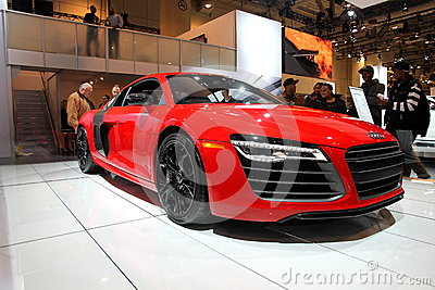 2013 Audi R8 V10 Editorial Stock Photo