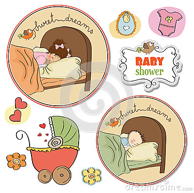New baby items set