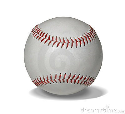 Free New Baseball With Path Stock Images - 361044