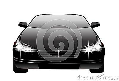New beautiful car