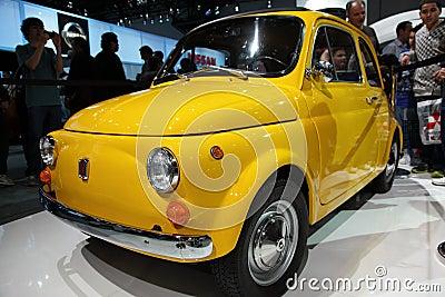 New Fiat At NY International Auto Show Editorial Photography