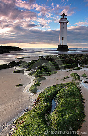 Free New Bighton Lighthouse Royalty Free Stock Photo - 8663895