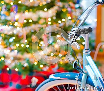 New bike at Christmas