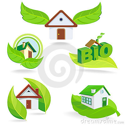 New - BIO Green House ICONs and Symbols