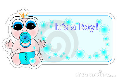 New Birth Label - Baby Boy