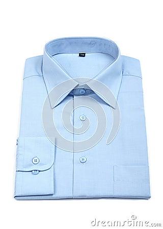 New blue man s shirt