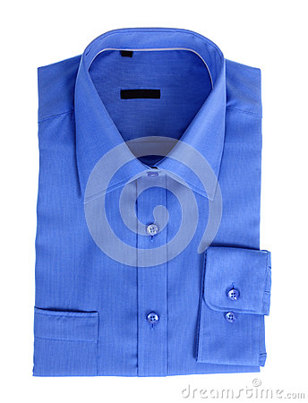 New blue shirt