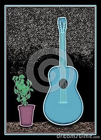 New Blues Guitar A1