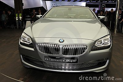 The new BMW 6 Series Coupe Editorial Photography
