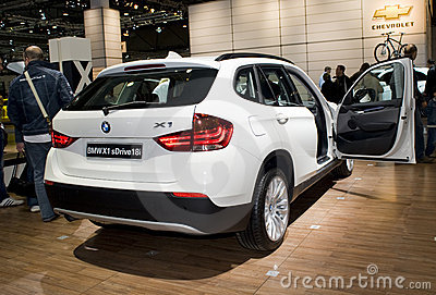 New BMW X1, SUV, 4WD Editorial Stock Image