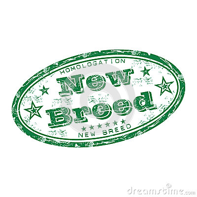 New breed rubber stamp
