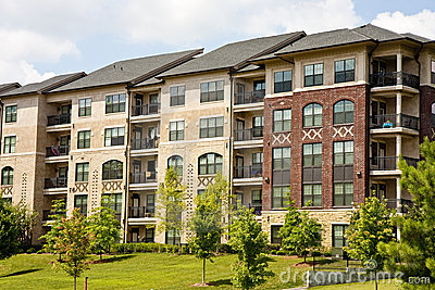 New Brick and Stucco Apartments