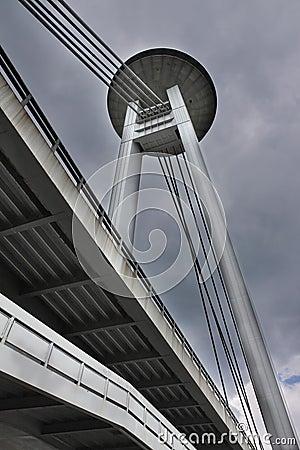 New bridge; Bratislava; Slovakia